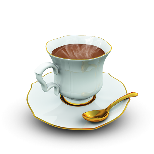 Coffee-Cup icon. PNG File: 512x512 pixel - Coffeemug HD PNG