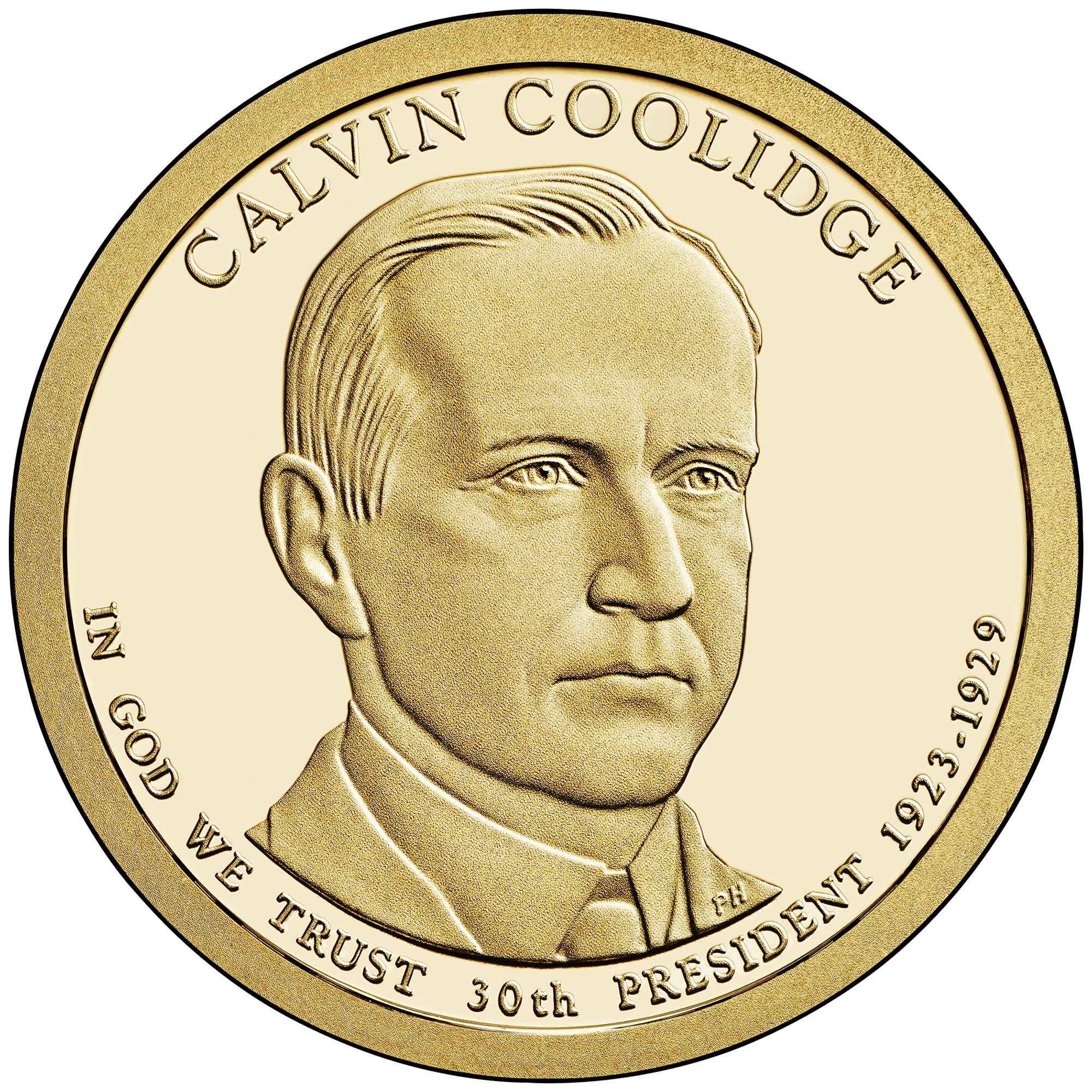 File:2014 Coolidge Coin.png - Coin HD PNG