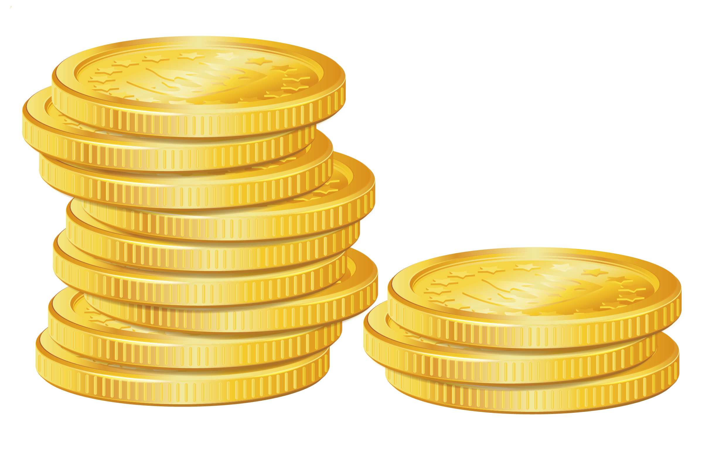 Pile of coins picture clipart - Coin HD PNG