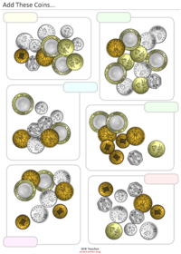 Add Coins - Coins PNG For Teachers