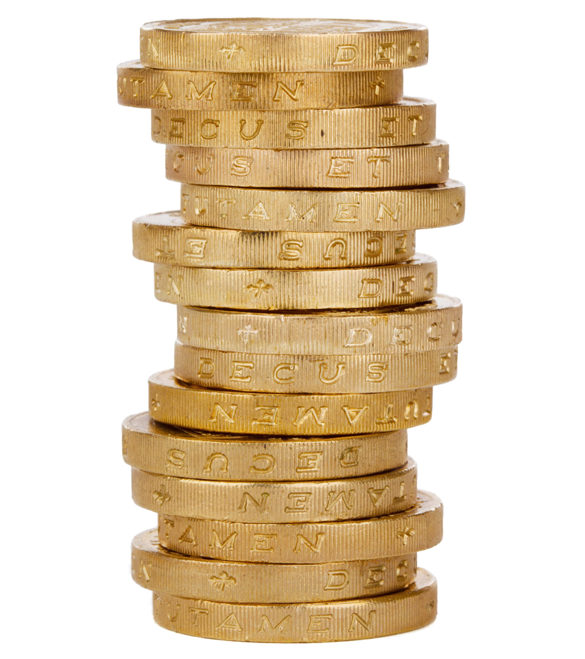 Coin Stack PNG HD - Coins PNG HD