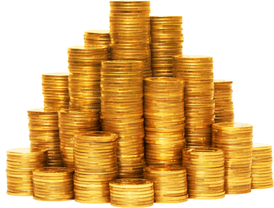 PNG File Name: Coins Transparent Background - Coins PNG