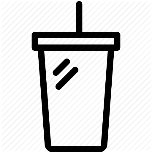 Coke PNG Black And White - 142933