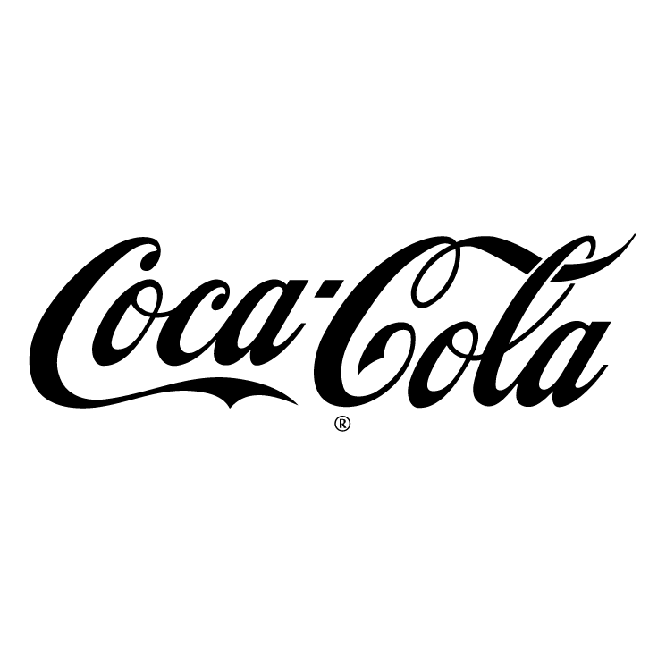 Coke PNG Black And White - 142949