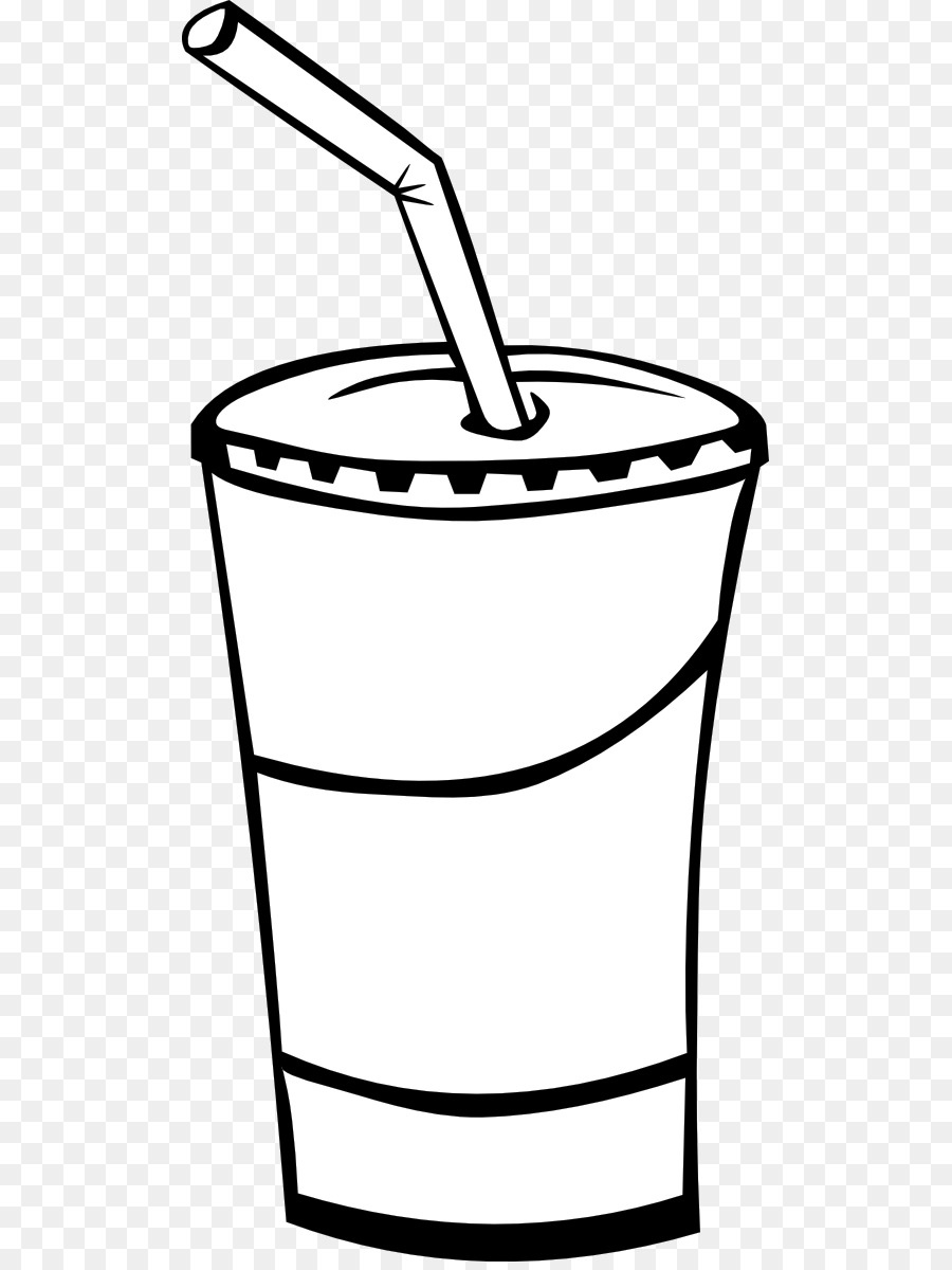 Coke PNG Black And White - 142935