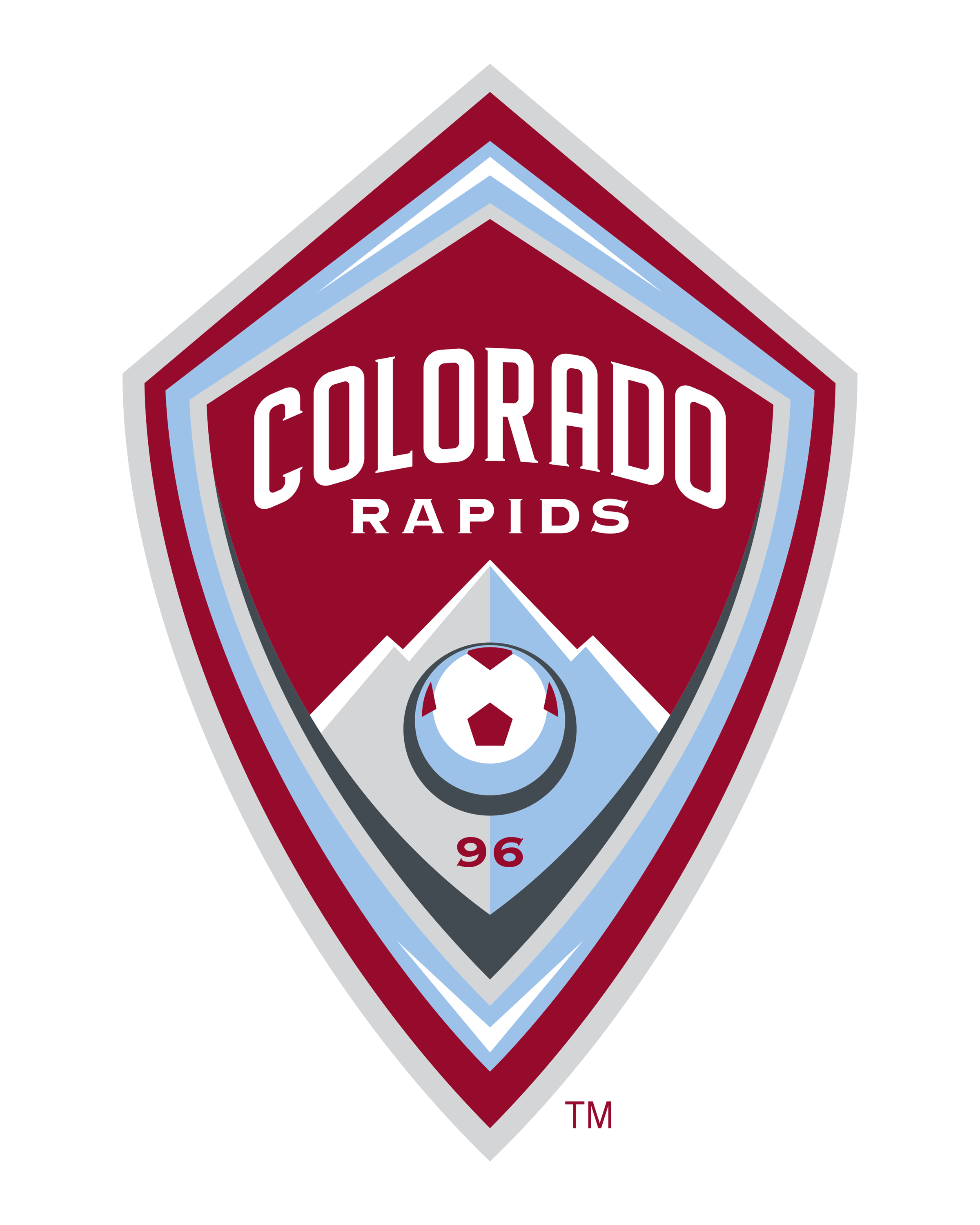Colorado Rapids logo transparent - Colorado Rapids Logo Vector PNG