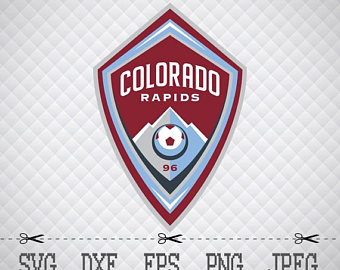 Colorado Rapids sc Logo SVG DXF EPS Png Digital Cut Vector Files for  Silhouette Studio Cricut - Colorado Rapids Logo Vector PNG