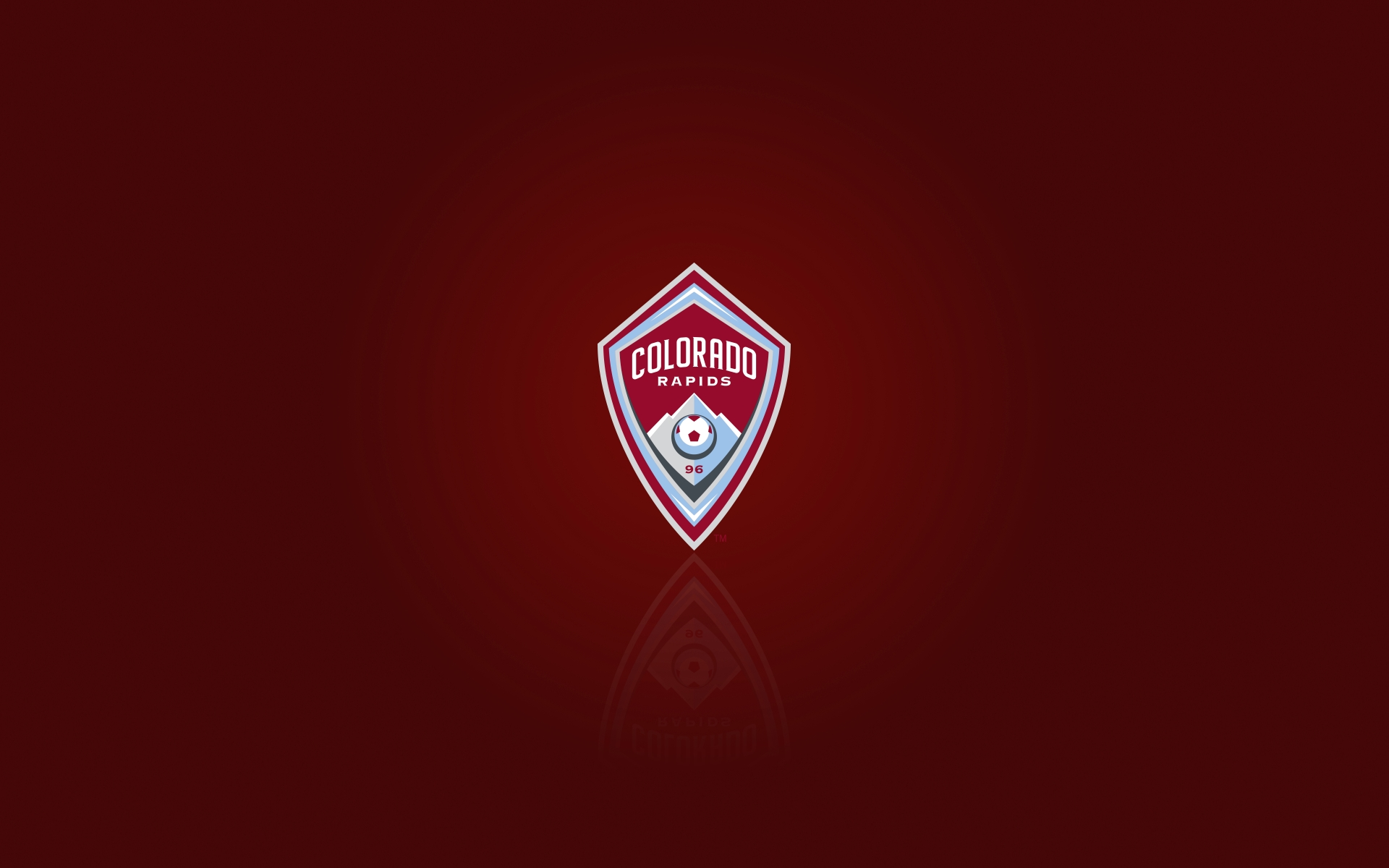 MLS club Colorado Rapids desktop background and widescreen HD wallpaper  with logo 1920x1200 - Colorado Rapids Logo Vector PNG