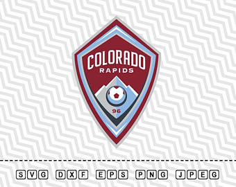 SVG Colorado Rapids Soccer Club Logo Vector Layered Cut File Silhouette  Cameo Cricut Design Stencil Vinyl - Colorado Rapids Logo Vector PNG