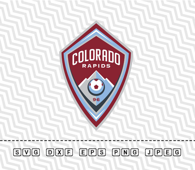 ????zoom - Colorado Rapids Logo Vector PNG