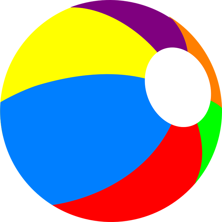 Colorful Beach Ball Png image #41207 - Beach Ball PNG