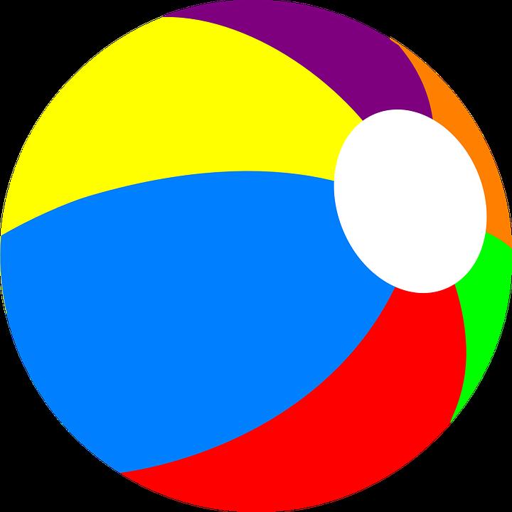 Beach Ball PNG - 7110