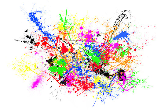 Colorful Paint Splatter Png image #33315 - Colorful PNG