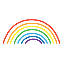 Rainbow colorful - Colorful PNG