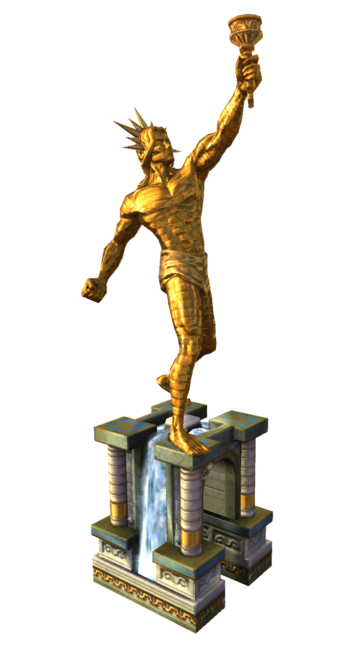 Colossus Of Rhodes PNG - 25266