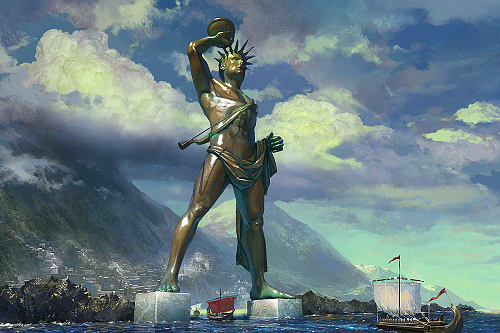 Colossus Of Rhodes PNG - 25263