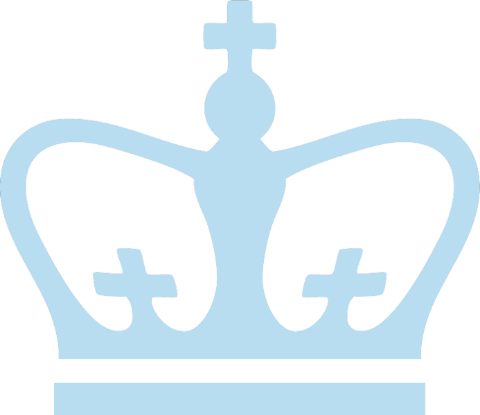 Columbia Chess Club - Columbia University Logo PNG