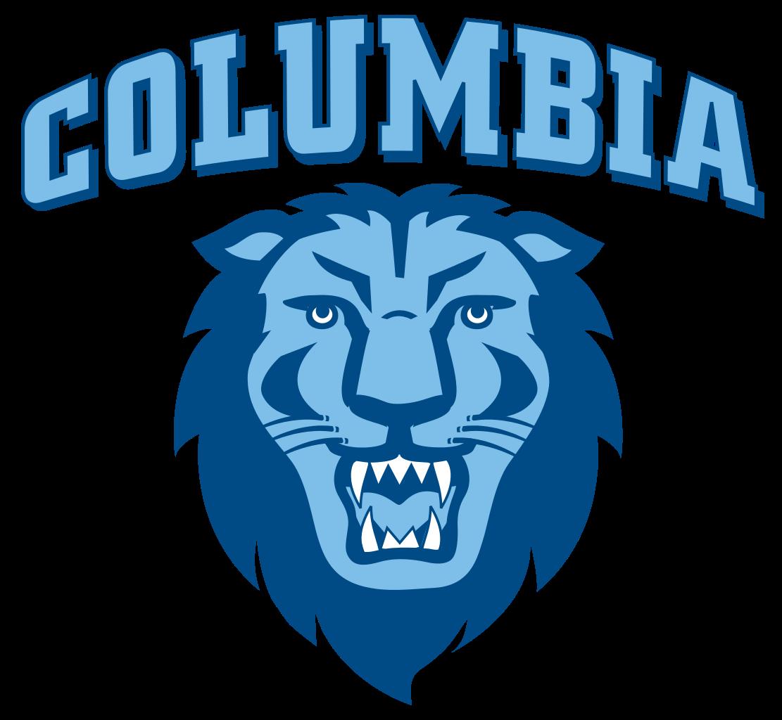Columbia Lions Bball, Columbia Basketball, Basketball at Columbia - Columbia University Logo PNG