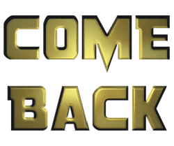 come back logo - Come Back PNG