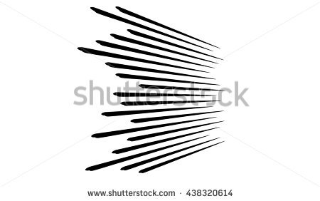 Comic speed lines background.Explosion.Super Speed. - Speed PNG