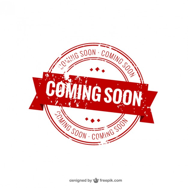 Coming soon stamp Free Vector