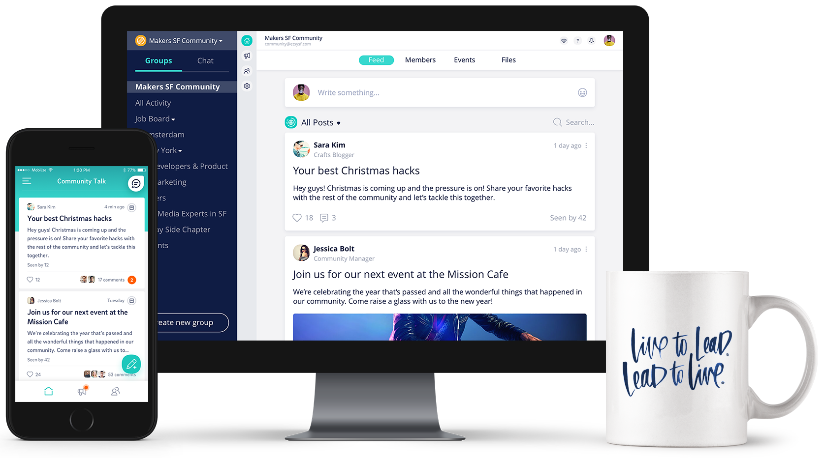 All-In-One community management platform - Communication Gadgets PNG