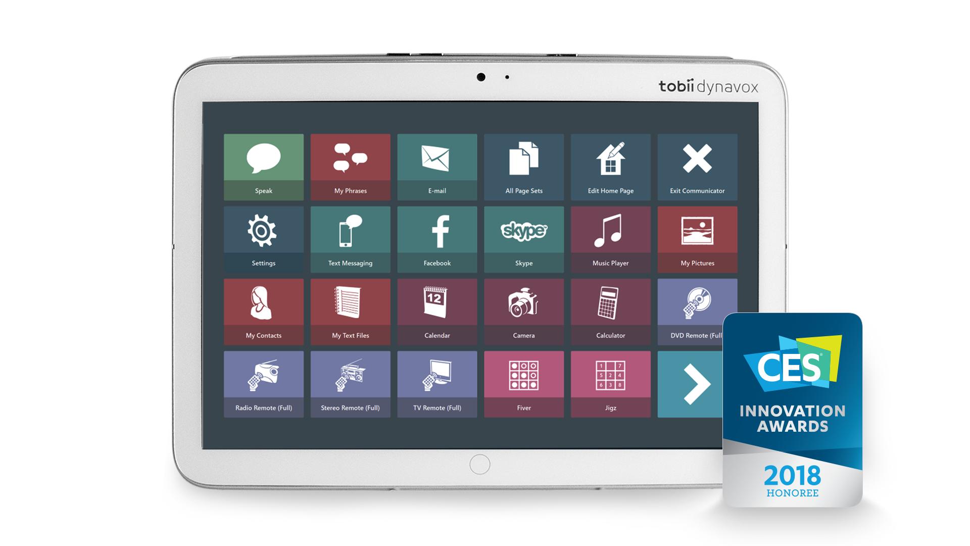 Indi with Communicator 5 - Communication Gadgets PNG
