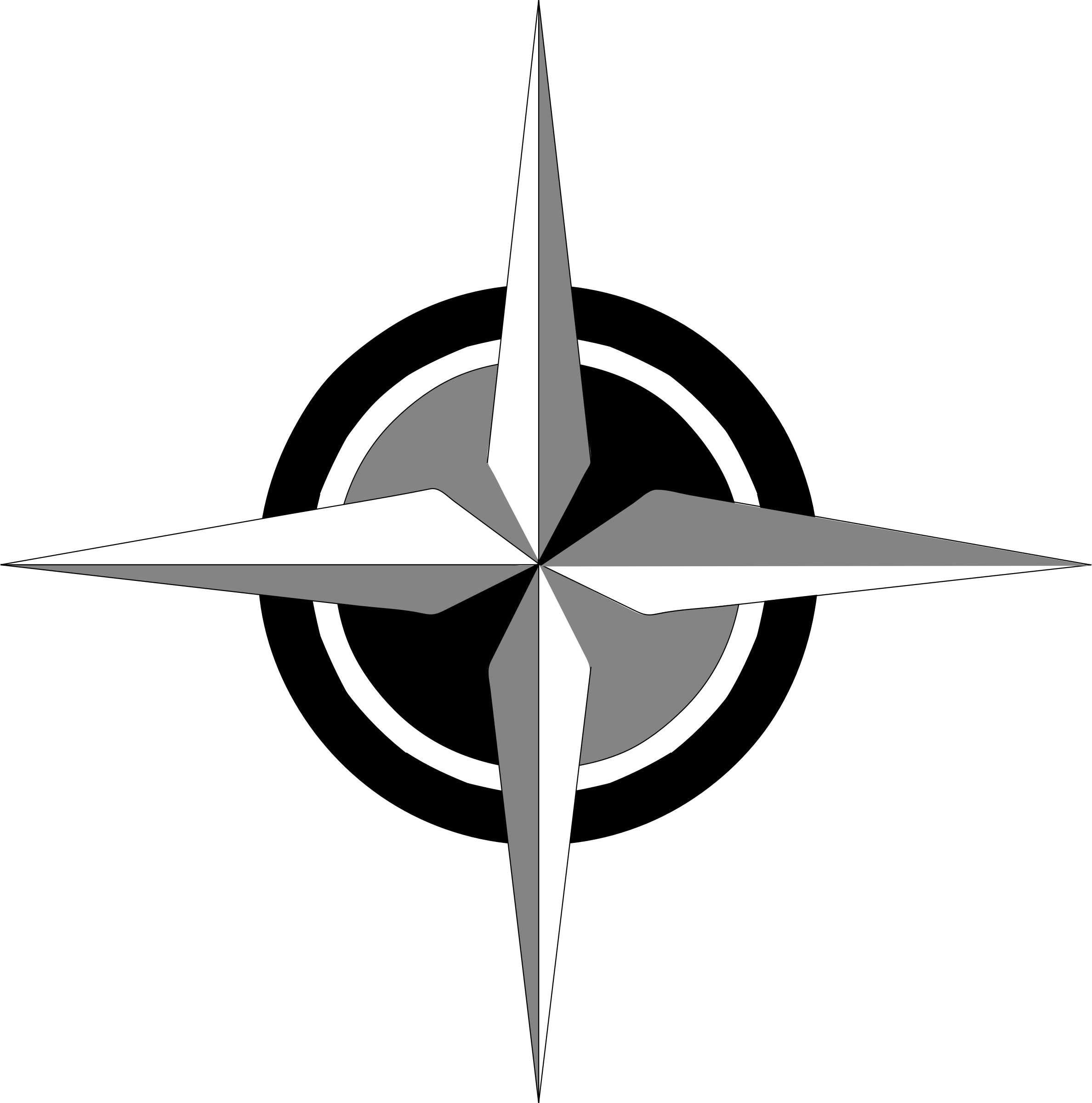 This free Icons Png design of compass rose 1 PlusPng.com  - Compass Rose PNG Black And White