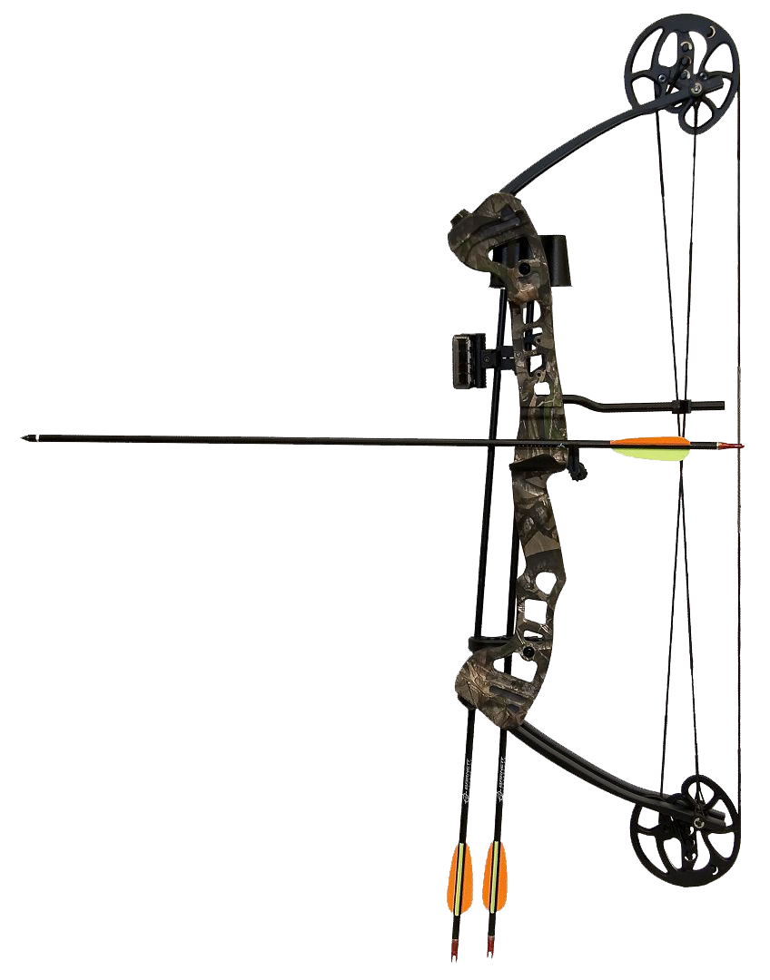 Compound Bow And Arrow PNG-PlusPNG.com-848 - Compound Bow And Arrow PNG