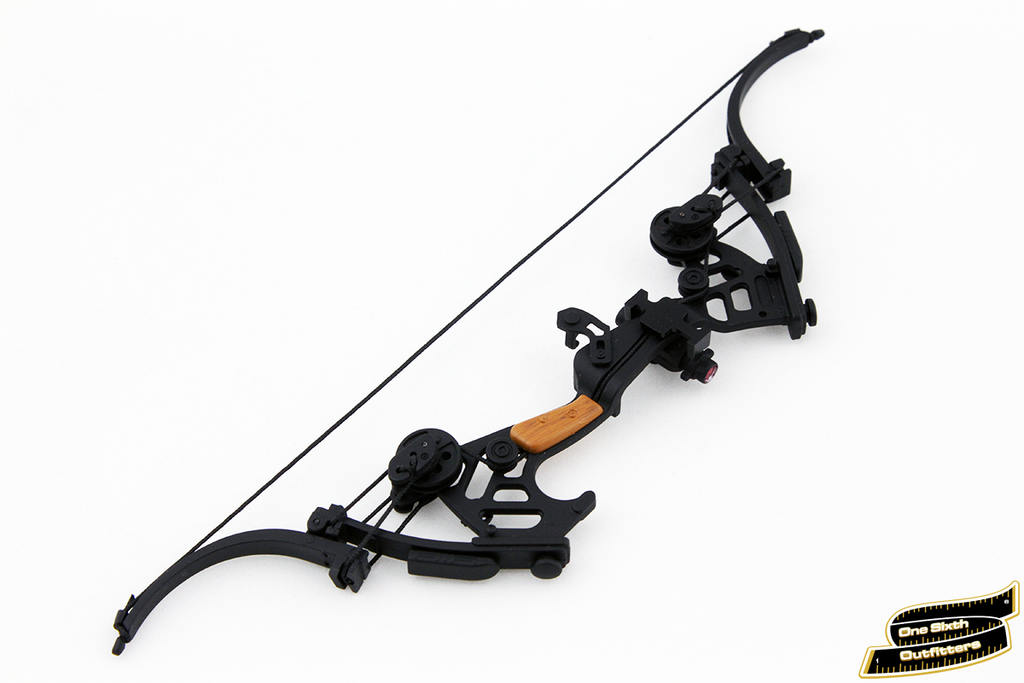 . PlusPng.com 1/6 Scale Green Arrow Compound Bow PlusPng.com  - Compound Bow And Arrow PNG