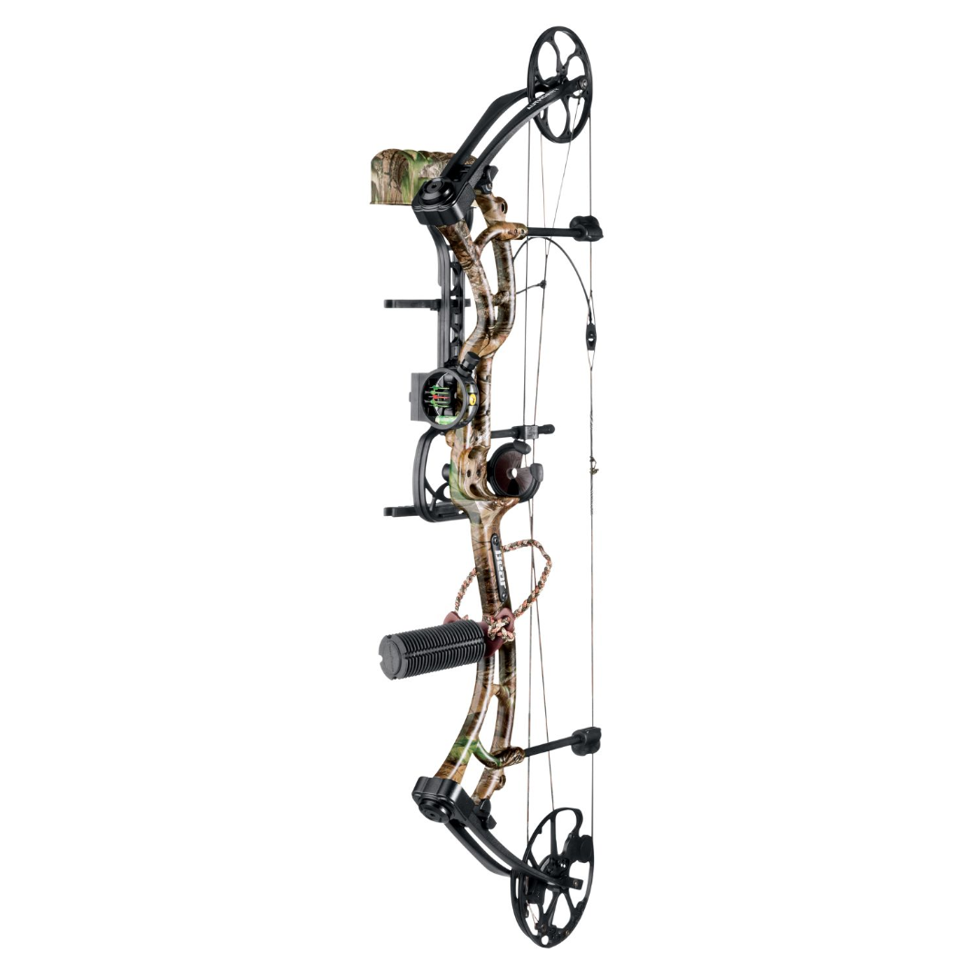 Bear Archery - Authority Bow Package - Compound Bow And Arrow PNG