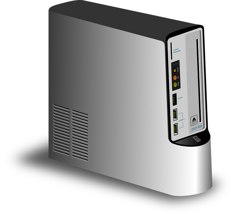 Computer Cpu PNG Black And White - 64601
