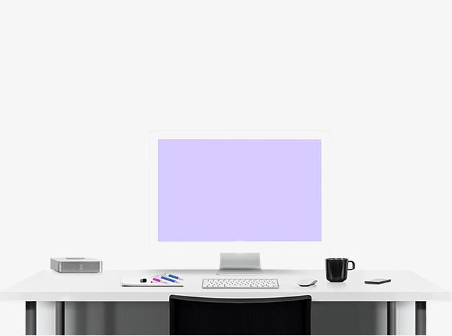 Computer Desk PNG HD - 129751