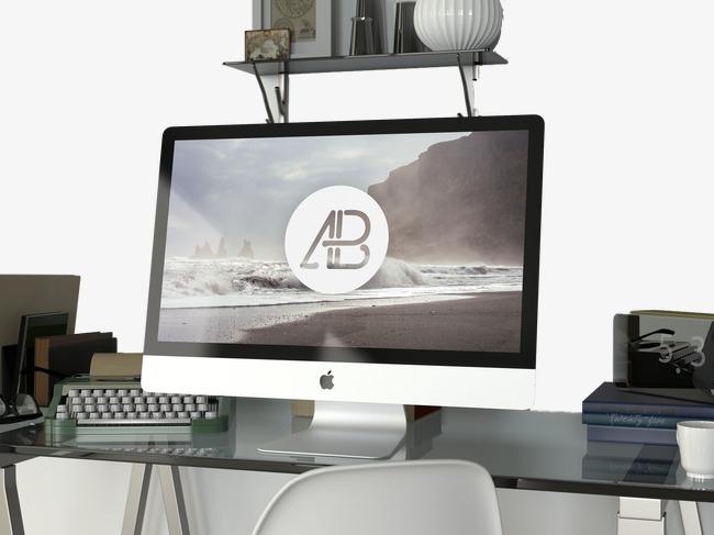 Computer Desk PNG HD - 129757