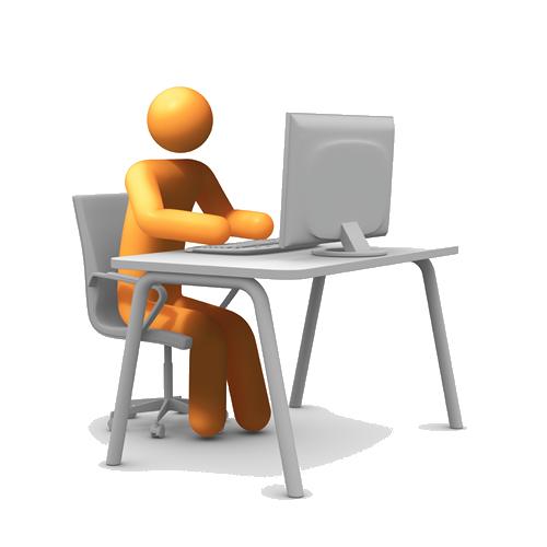 Computer Desk PNG HD - 129752