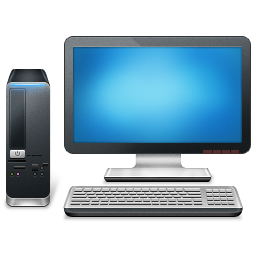 computer, desktop, pc icon. Download PNG - Computer Pc PNG