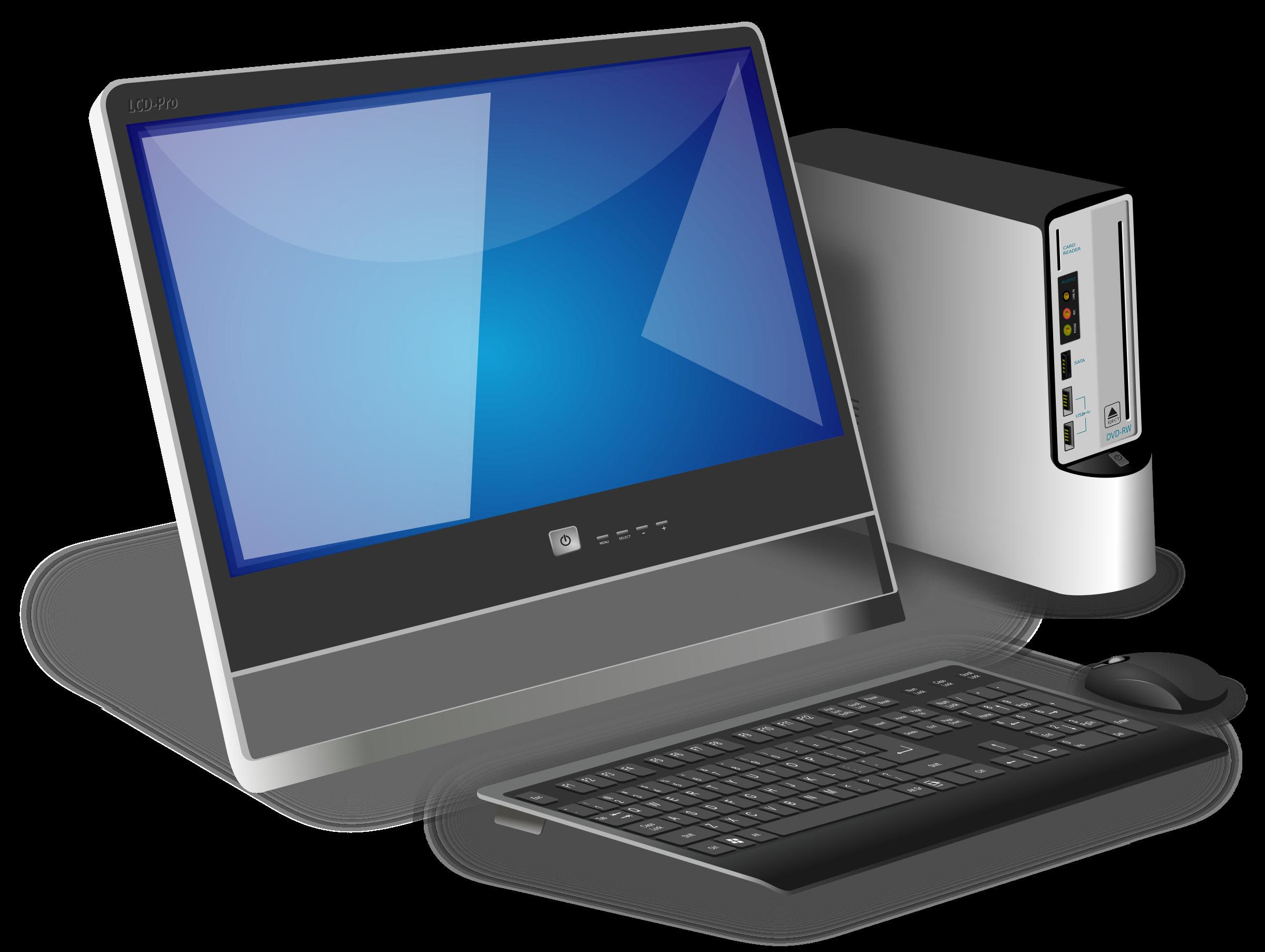 Computer desktop PC PNG - Computer Pc PNG
