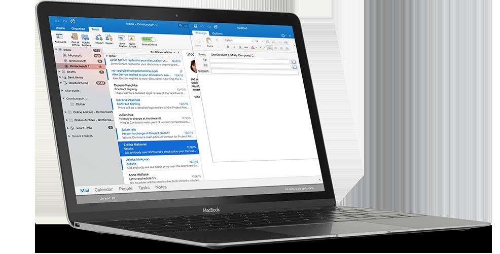 Outlook Mail Hesabına İmza Nasıl Eklenir? - Computer Email PNG