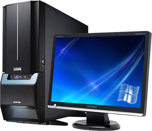 Computer desktop PC PNG image - Computer HD PNG