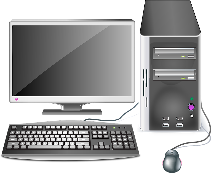 Computer, Desktop, Workstation, Office, Hardware - Computer HD PNG