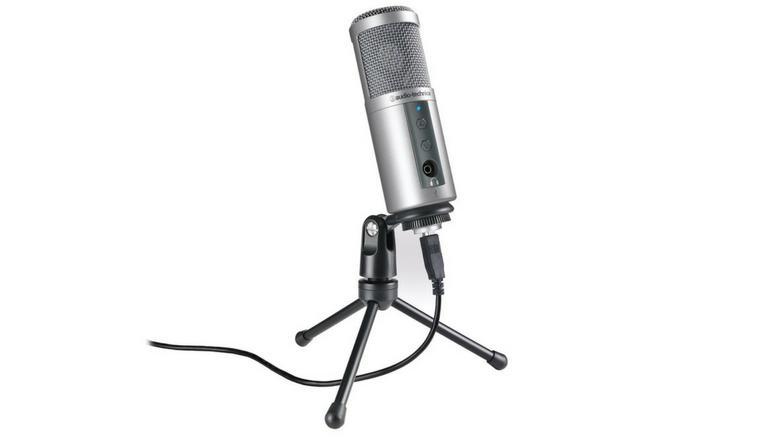 Audio-Technica-ATR2500-USB - Computer Mic PNG