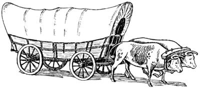 Conestoga Wagon PNG - 54131