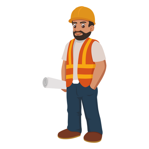 Construction Worker PNG HD - 124545