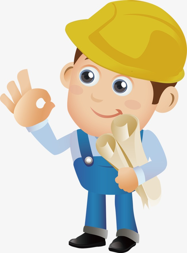 Construction Worker PNG HD - 124555