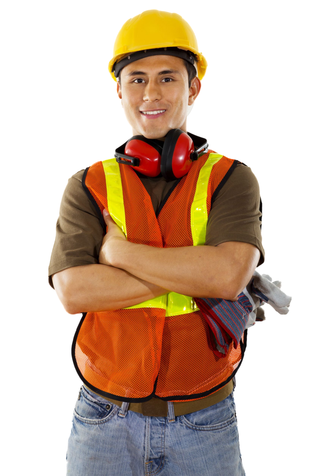 Construction Worker PNG HD - 124547