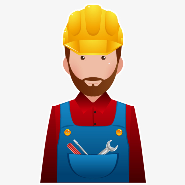 Construction Worker PNG HD - 124557