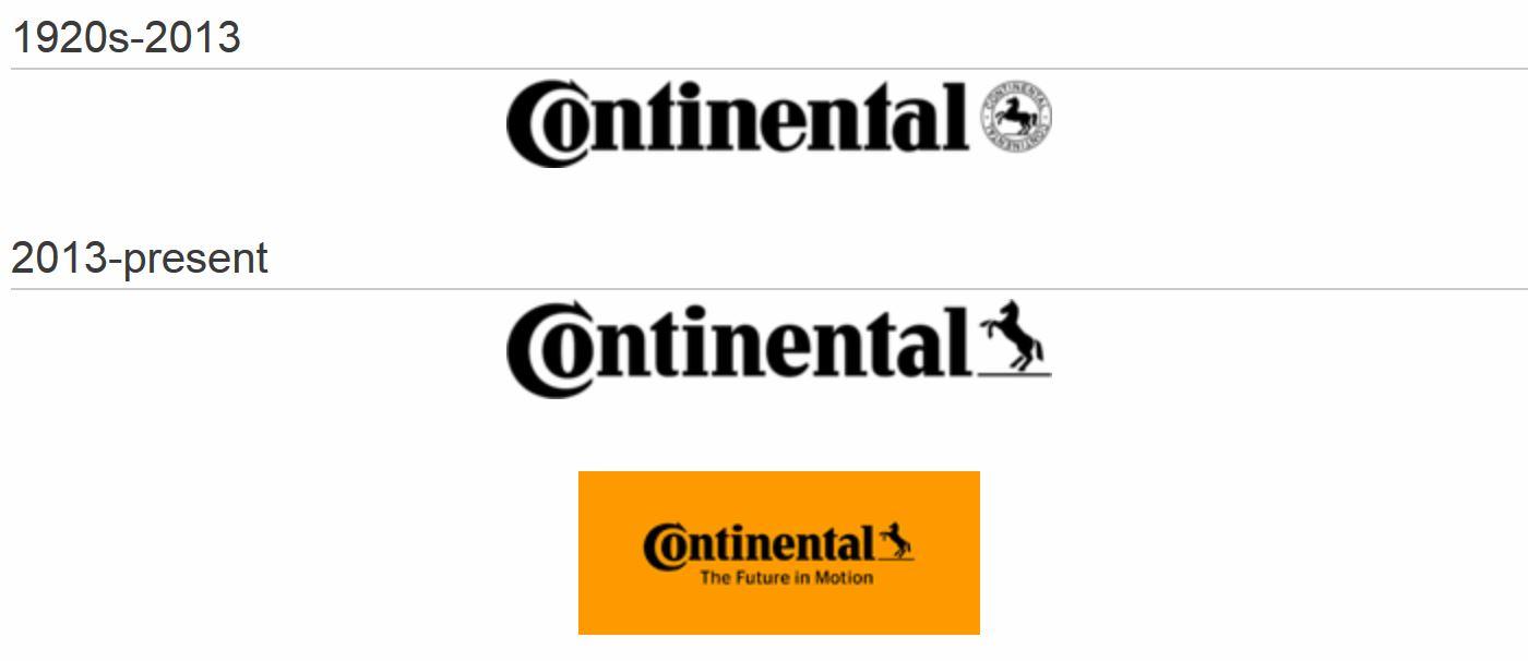 Continental Logo History - Continental Tires Logo Vector PNG
