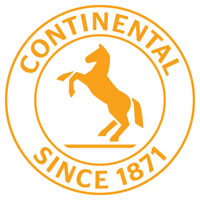 Continental13 Logo Seal 137c WhtBG-th - Continental Tires Logo Vector PNG