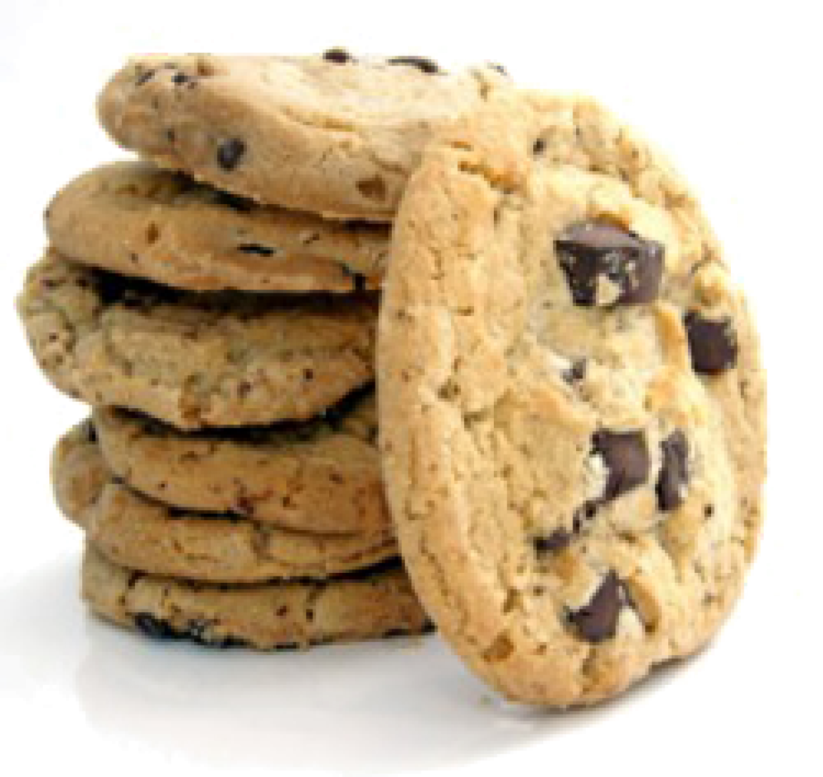 Chocolate Chip Cookies - Cookie HD PNG
