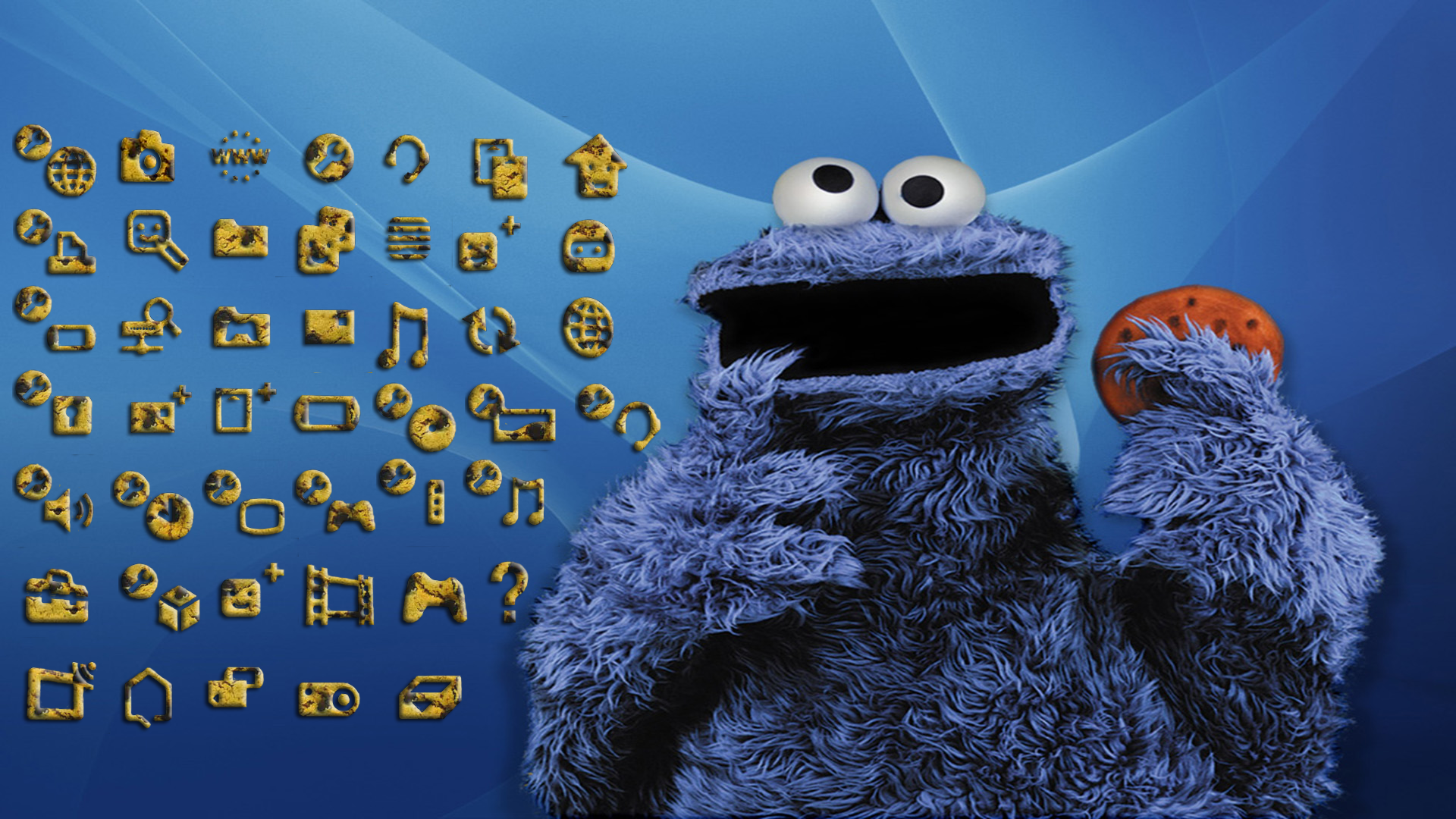 Cookie Monster PNG HD - 139240